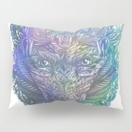Ornament Bear - Mother Of Pearl Pillow Sham