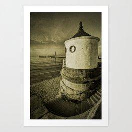 Whitby Round House Art Print