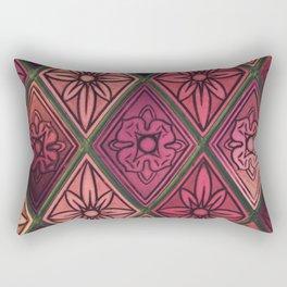 Purple Window Rectangular Pillow