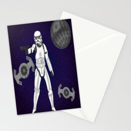 storm trooper Stationery Cards