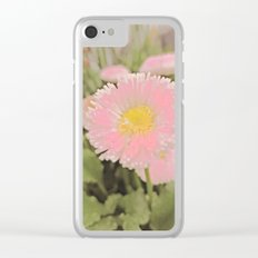 The Singular Beauty Of A Daisy Clear iPhone Case