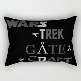 Geek All Stars Rectangular Pillow