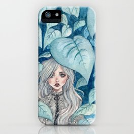 Silver Forest iPhone Case