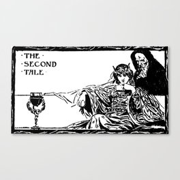 The Second Tale Canvas Print