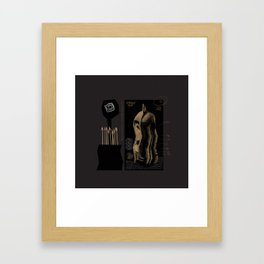 Tw.Night Framed Art Print