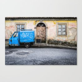 Door No 1 Canvas Print