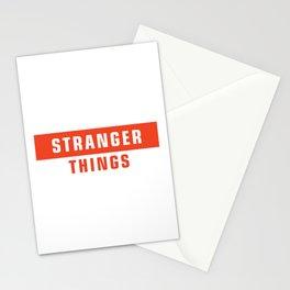 supreme stranger Stationery Cards