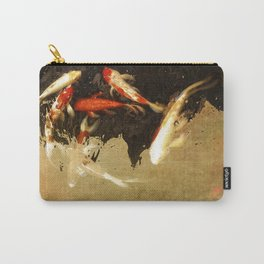 Thirteen Koi Fishes Carry-All Pouch
