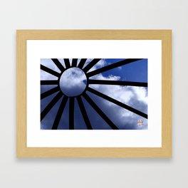 Angel Face thru dome by Aloha Kea Photography Framed Art Print