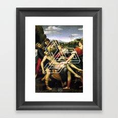 Raphael tri Framed Art Print