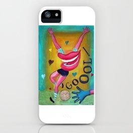 Gol y corazones 2 iPhone Case