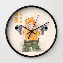 The Hero of Canton  (Lego Firefly) Wall Clock