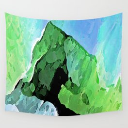 Nothern Lights Wall Tapestry