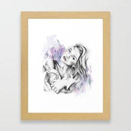Silk Shirt Framed Art Print