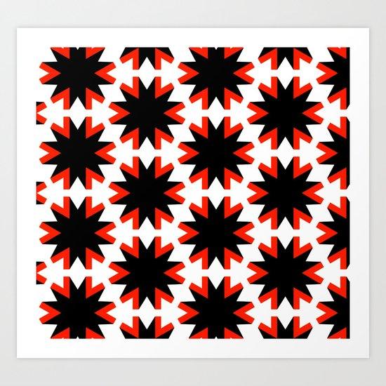 Vleminck Pattern Art Print