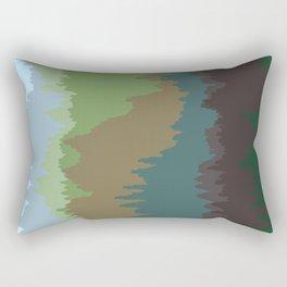 Vocalscape III Rectangular Pillow