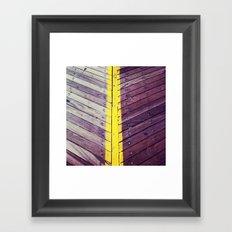 Boardwalk Divided Framed Art Print