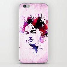 abstract frida iPhone Skin