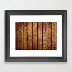 Wood Texture 10 Framed Art Print