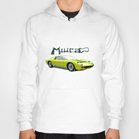 lamborghini Hoodies featuring Lamborghini Miura, car by Luca Olivotto
