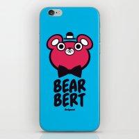 Bearbert iPhone & iPod Skin