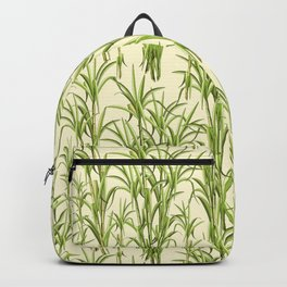 Sugar Cane Exotic Plant Pattern Backpack