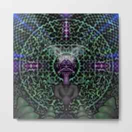 yogis mandala  Metal Print