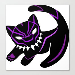 Cute panther Canvas Print