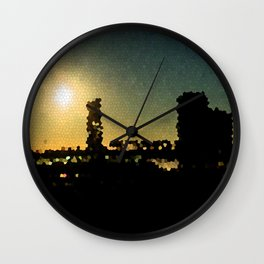 Jacksonville Sunrise Wall Clock