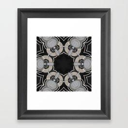 Silverstone Kaleidoscope Framed Art Print