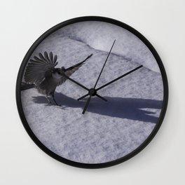 Thunderbird Shadow Wall Clock