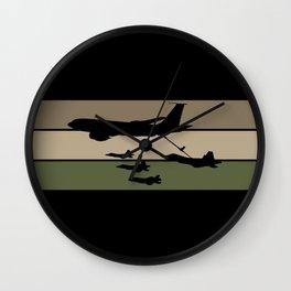 In-Flight Refueling Wall Clock