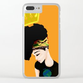 ~Her Majesty~ Clear iPhone Case