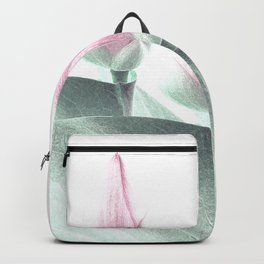Pastel Pink Floral Beauty Backpack