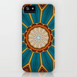 Merging Colours IIII iPhone Case