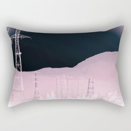 Lost Electric Highway Rectangular Pillow