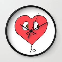 Heartface Wall Clock
