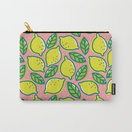 Lemons pattern Carry-All Pouch