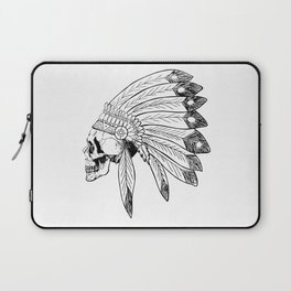 Indian Skull Laptop Sleeve