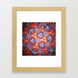 Kelidoscope blur Framed Art Print
