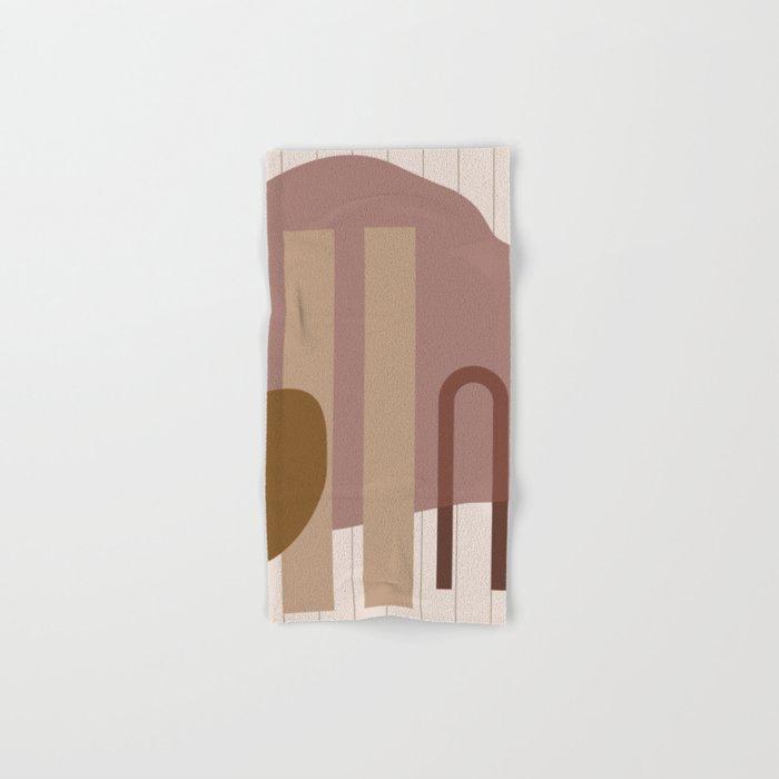 // Shape study #25 Hand & Bath Towel