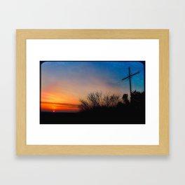 Holy Cross Framed Art Print