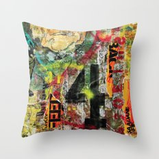 War & Peace Throw Pillow