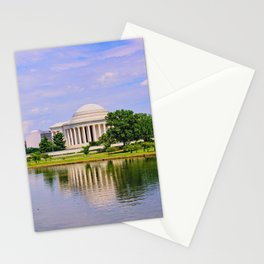 Jefferson Memorial Stationery Cards