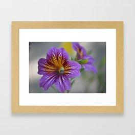 gentle beauty Framed Art Print