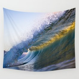 Gold Band Wall Tapestry