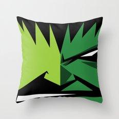 Hulk Cute Face Throw Pillow