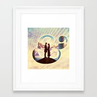 princess bride Framed Art Prints featuring Princess Bride by Emmy Winstead