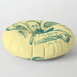 20,000 Leagues Under The Sea Floor Pillow