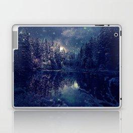 Winter Forest Deep Pastel Laptop & iPad Skin